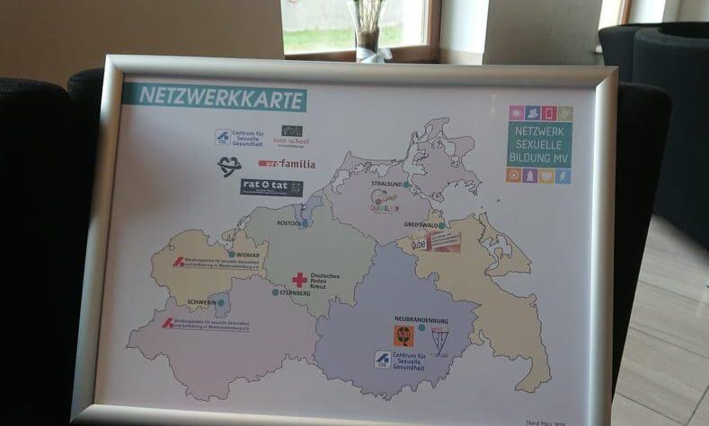 Karte Netzwerk sexuelle Bildung MV