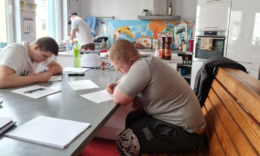 Phoenix.homeschooling.küche