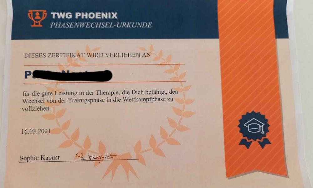 Phoenix.Phasenwechsel.Urkunde